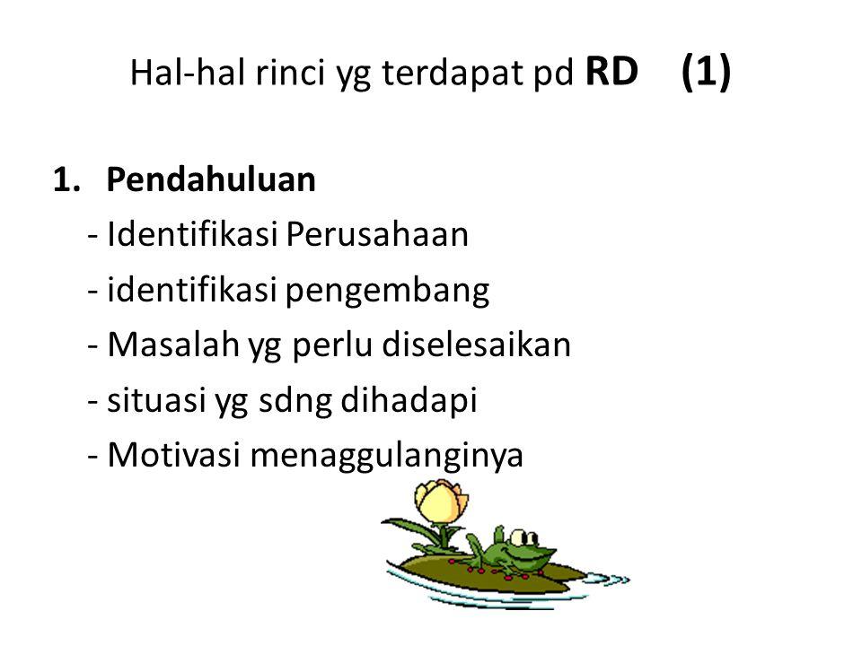 Hal-hal rinci yg terdapat pd RD (1)
