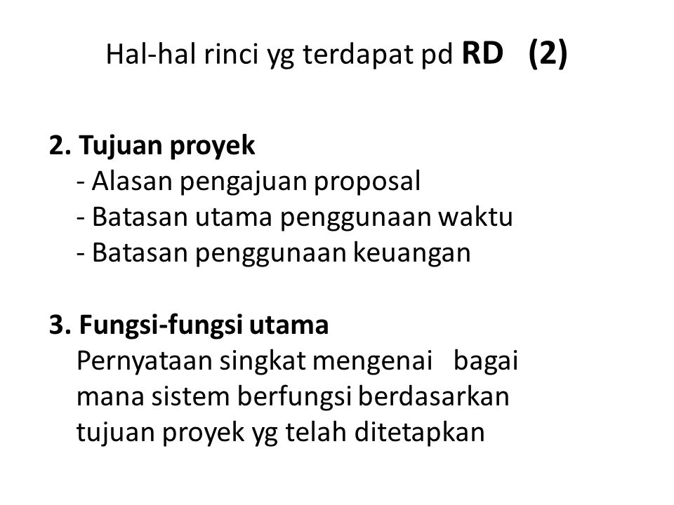 Hal-hal rinci yg terdapat pd RD (2)