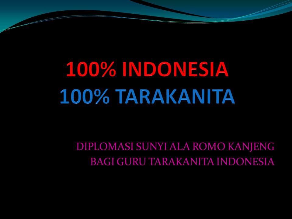 100% INDONESIA 100% TARAKANITA