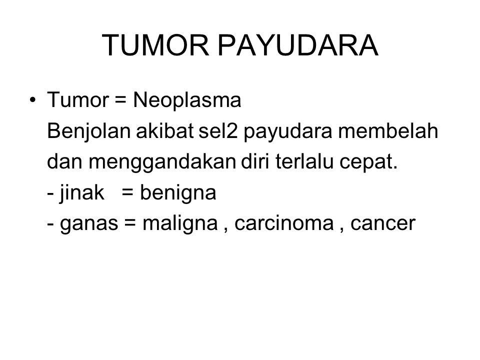 TUMOR PAYUDARA Tumor = Neoplasma