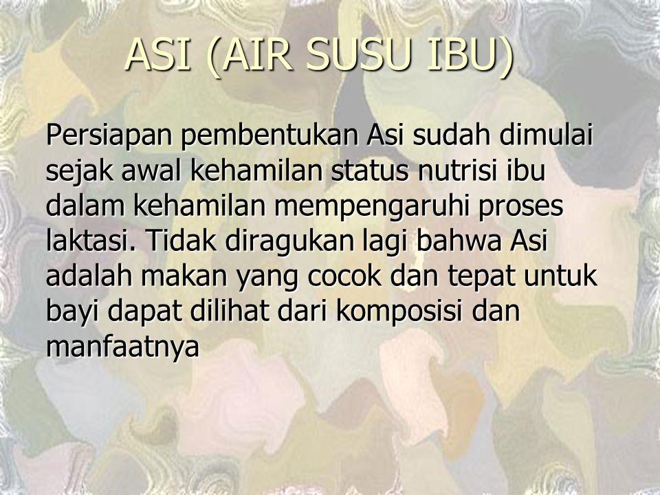 ASI (AIR SUSU IBU)