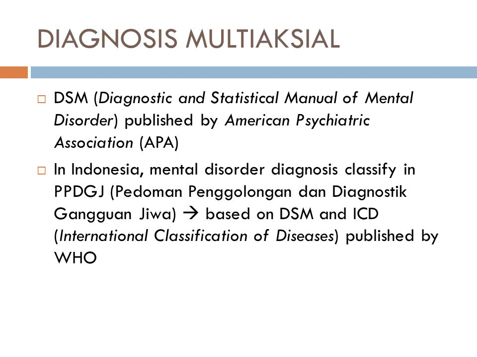 DIAGNOSIS MULTIAKSIAL