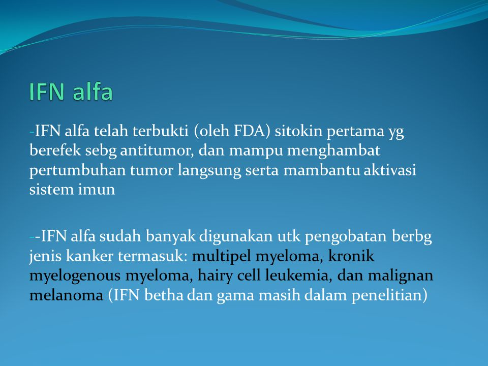 IFN alfa