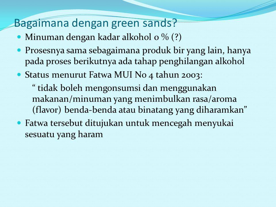 Bagaimana dengan green sands
