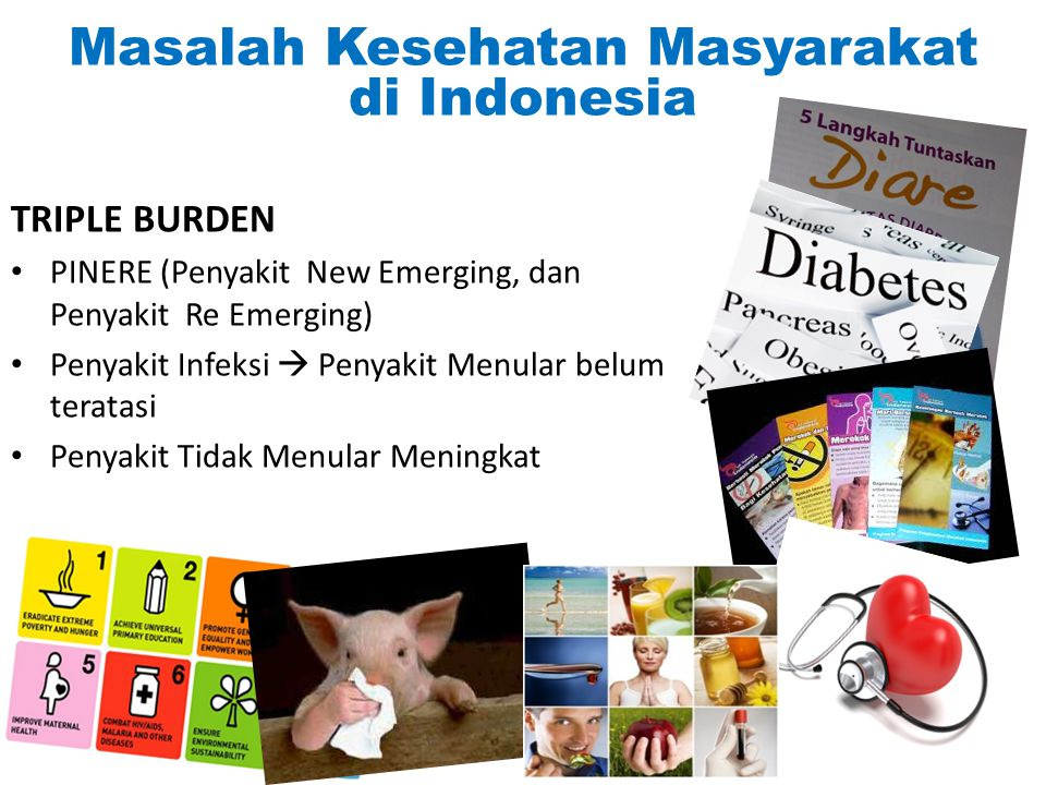 Masalah Kesehatan Masyarakat di Indonesia