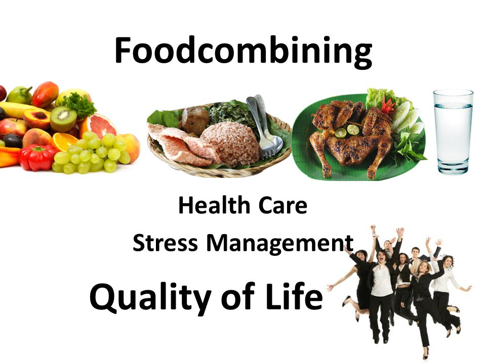 Foodcombining Quality of Life
