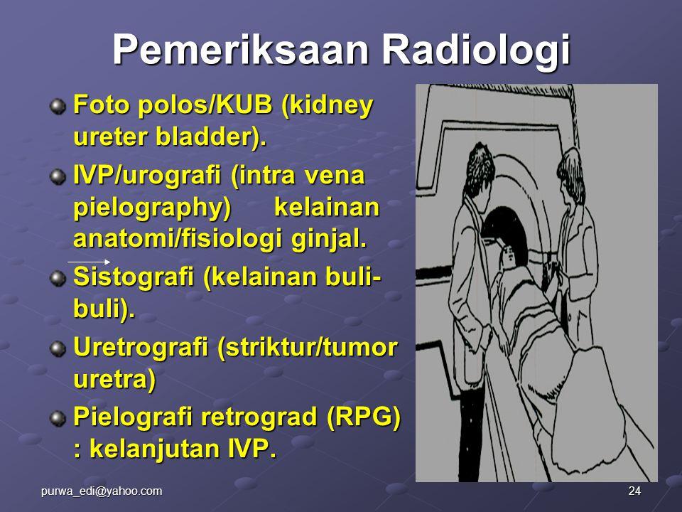Pemeriksaan Radiologi