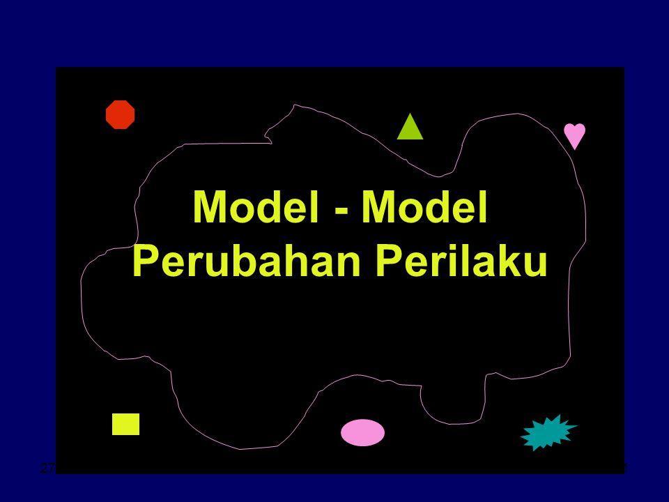 Model - Model Perubahan Perilaku