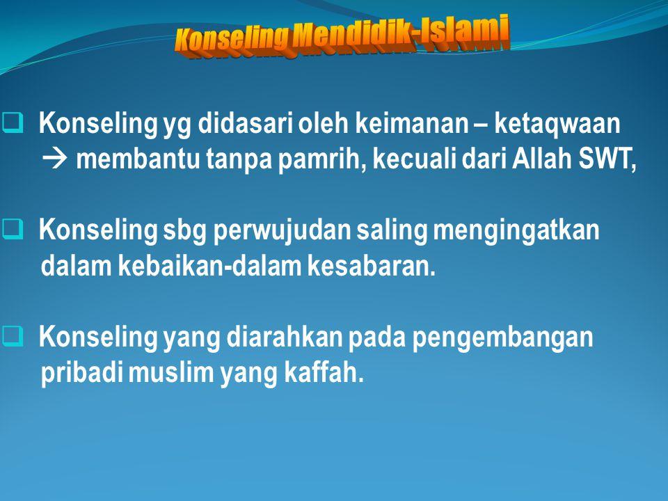 Konseling Mendidik-Islami