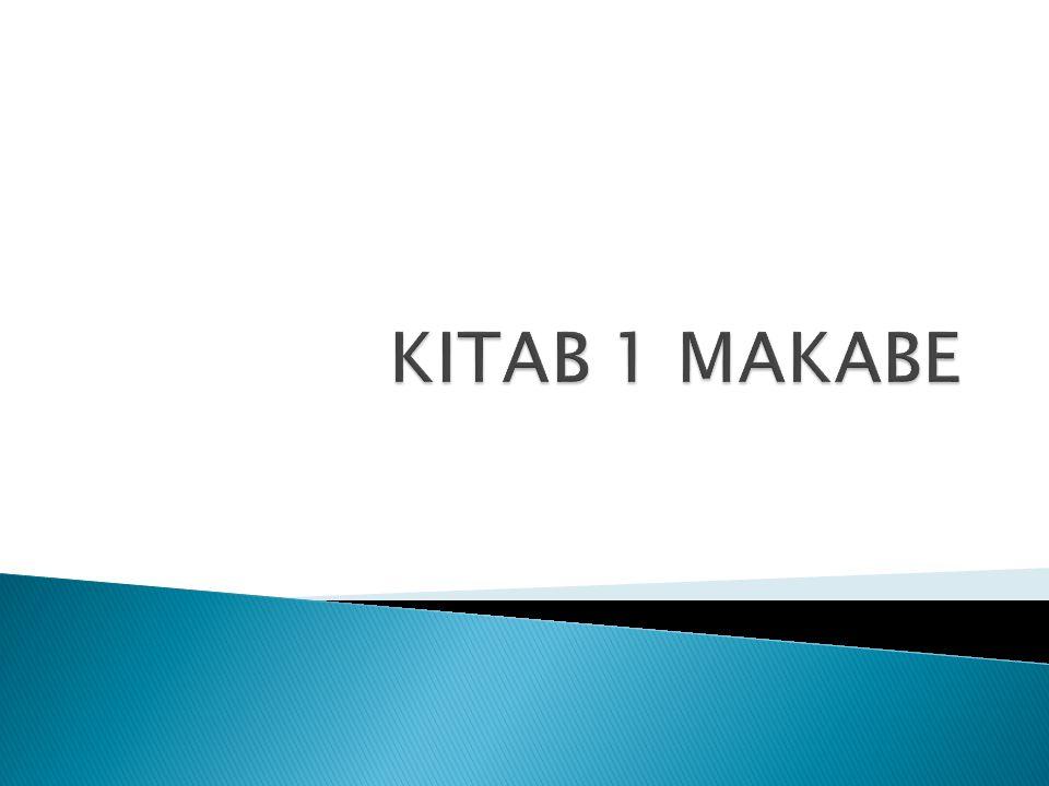 KITAB 1 MAKABE
