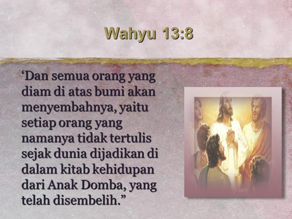 Wahyu 13:8
