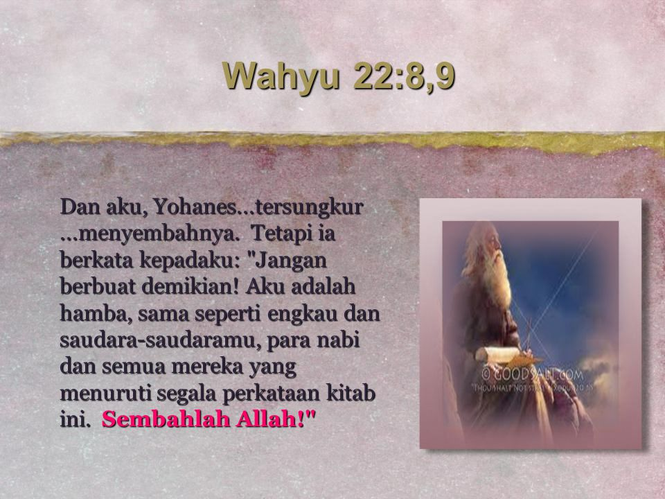 Wahyu 22:8,9
