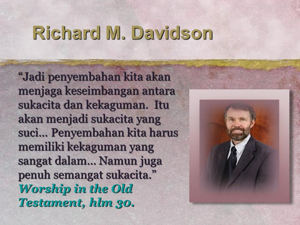 Richard M. Davidson