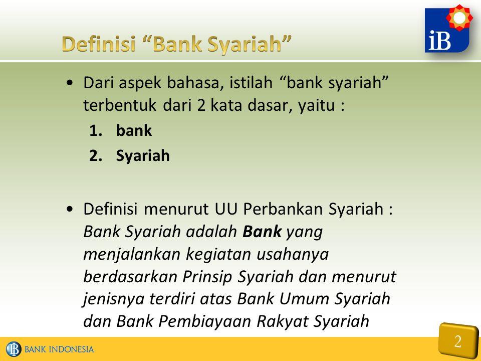 Definisi Bank Syariah