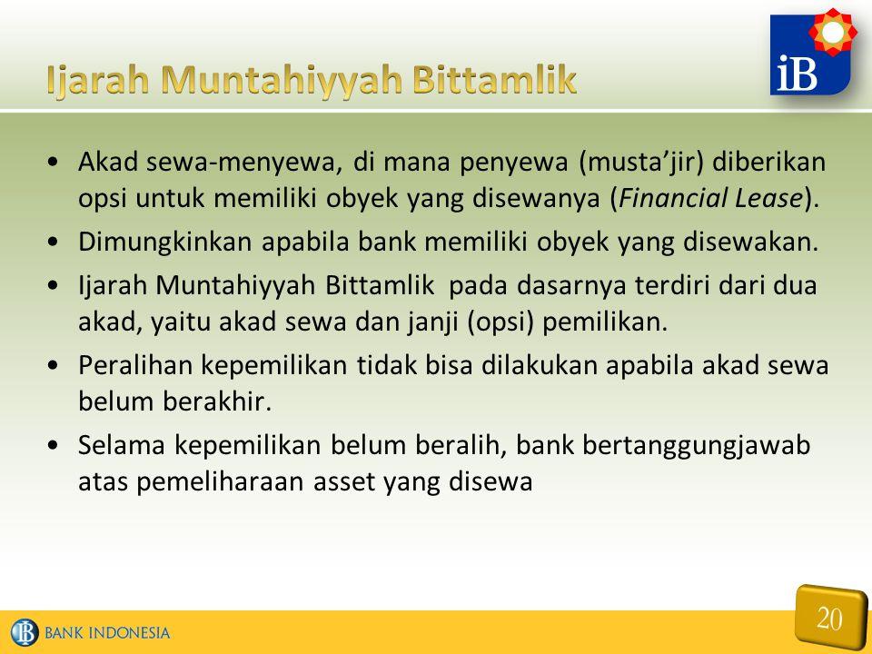 Ijarah Muntahiyyah Bittamlik