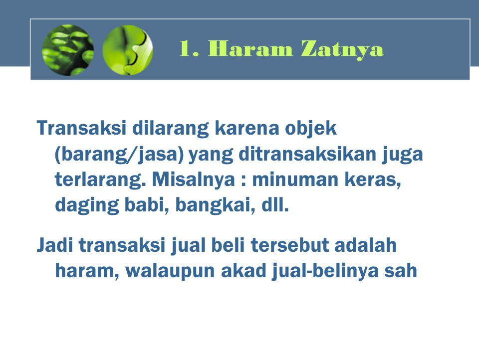 1. Haram Zatnya