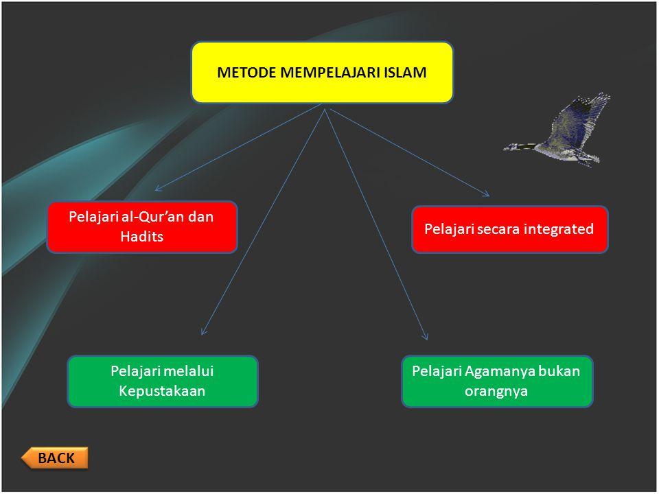 METODE MEMPELAJARI ISLAM