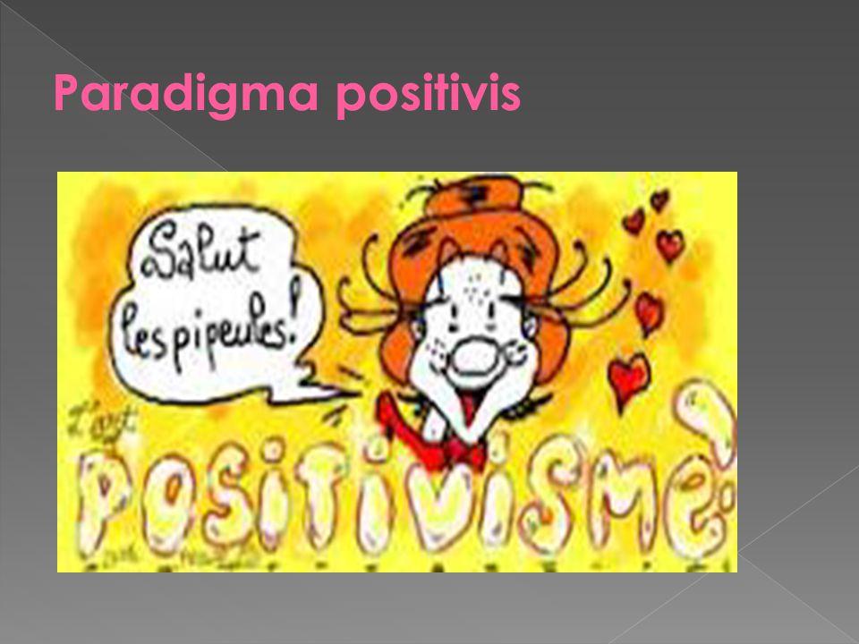 Paradigma positivis