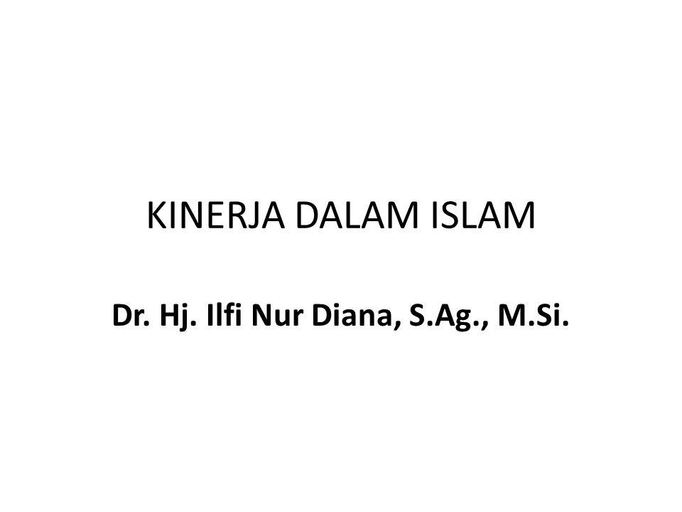 Dr. Hj. Ilfi Nur Diana, S.Ag., M.Si.