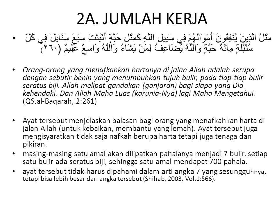 2A. JUMLAH KERJA