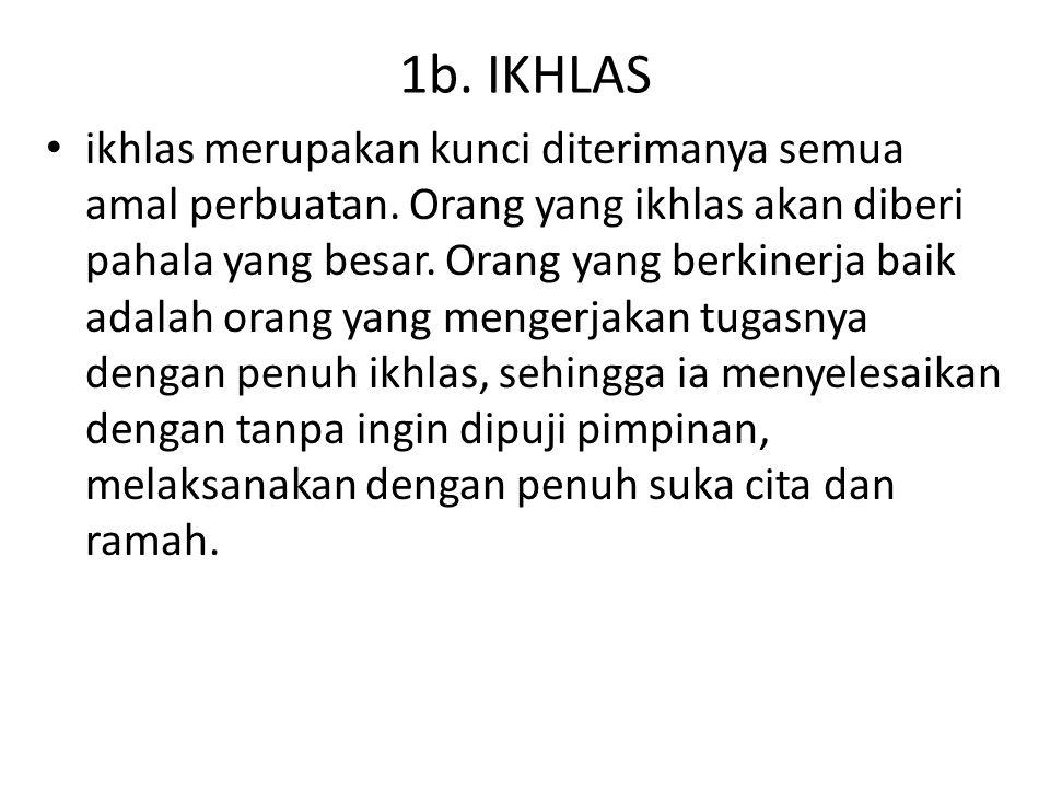 1b. IKHLAS