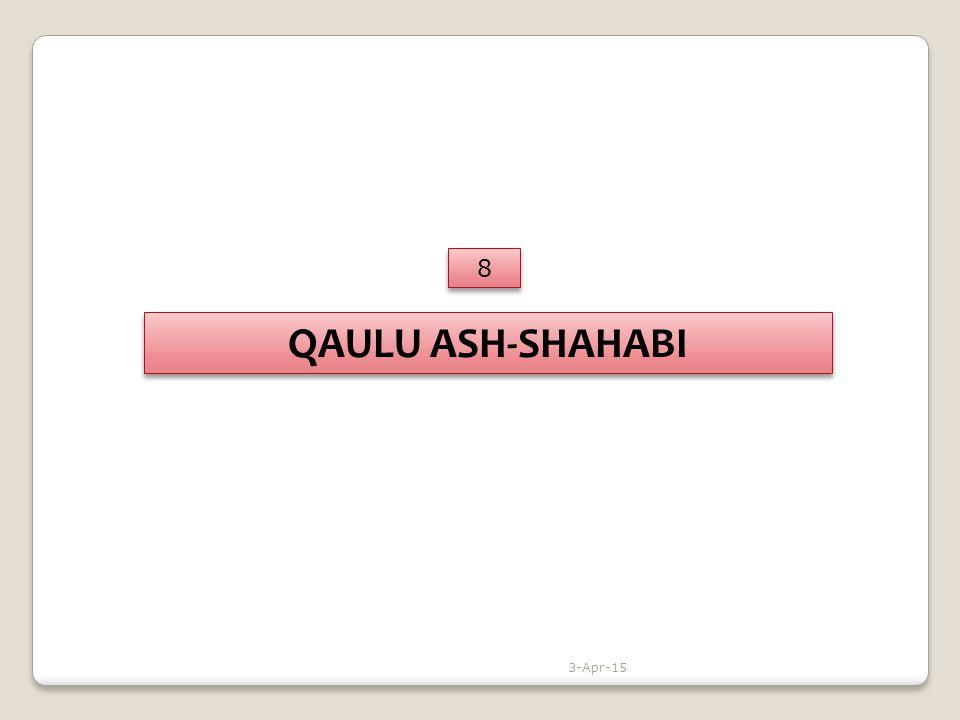 8 QAULU ASH-SHAHABI 9-Apr-17