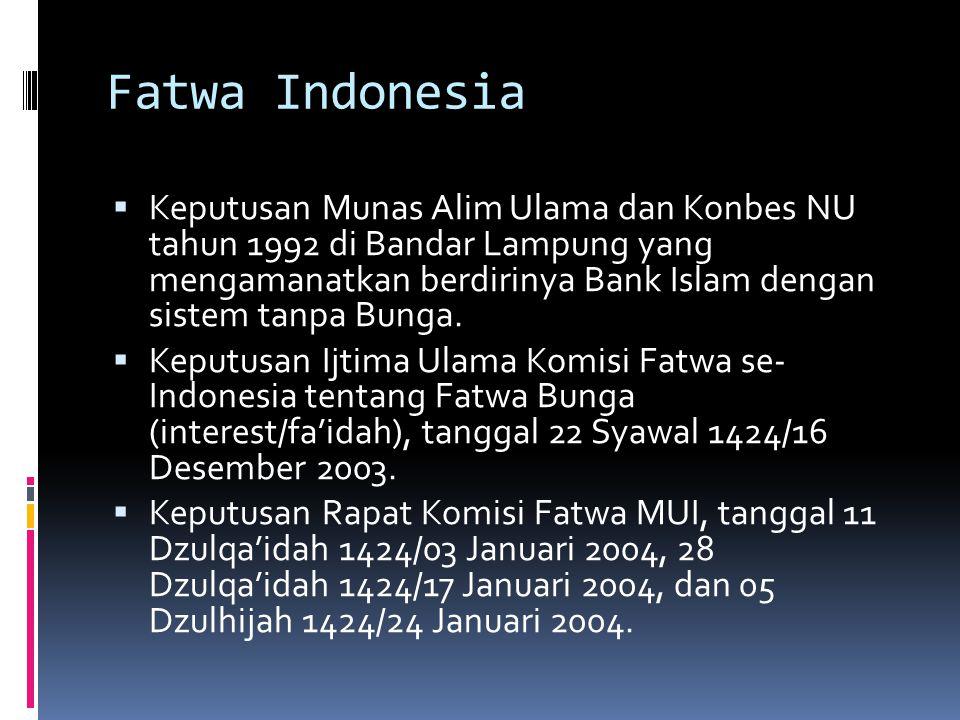 Fatwa Indonesia