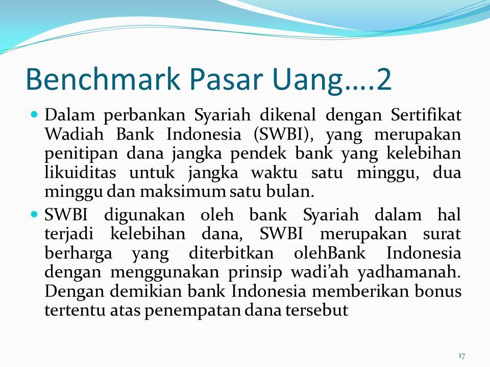 Benchmark Pasar Uang….2