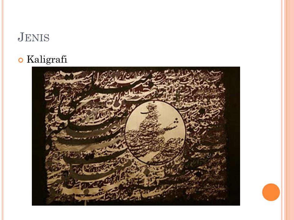 Jenis Kaligrafi