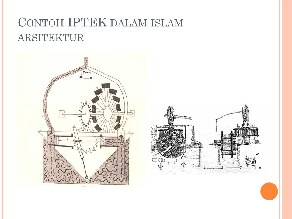 Contoh IPTEK dalam islam arsitektur