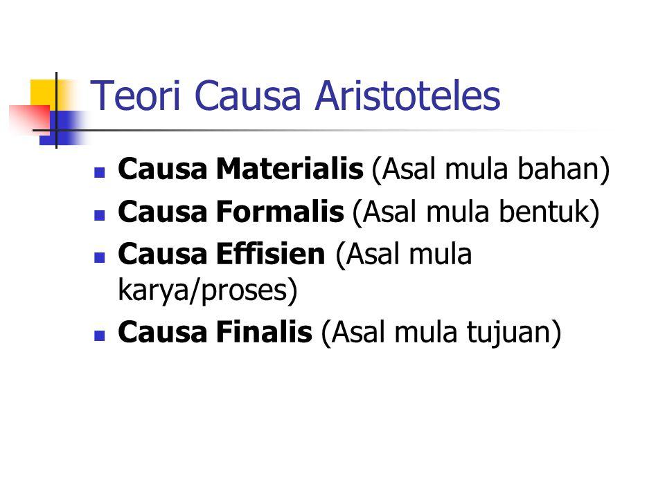 Teori Causa Aristoteles