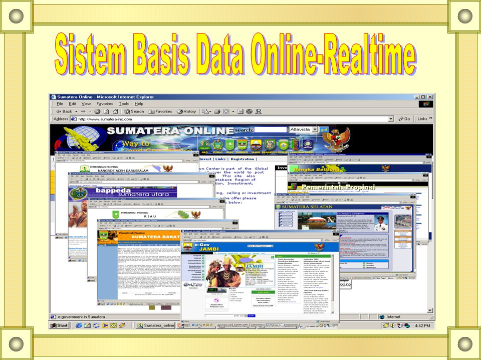 Sistem Basis Data Online-Realtime