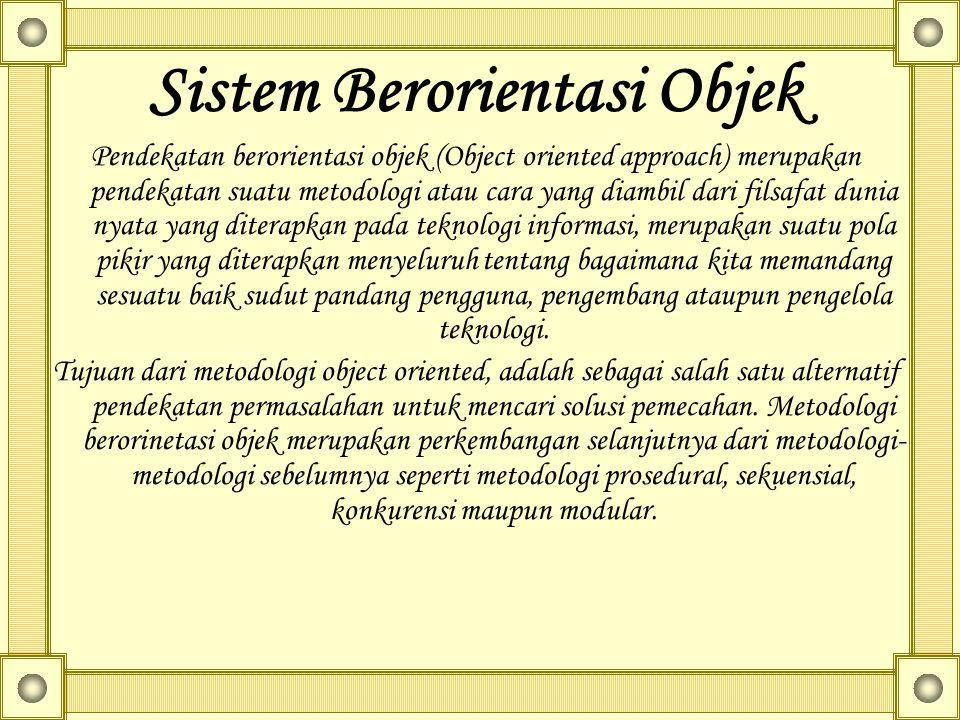 Sistem Berorientasi Objek