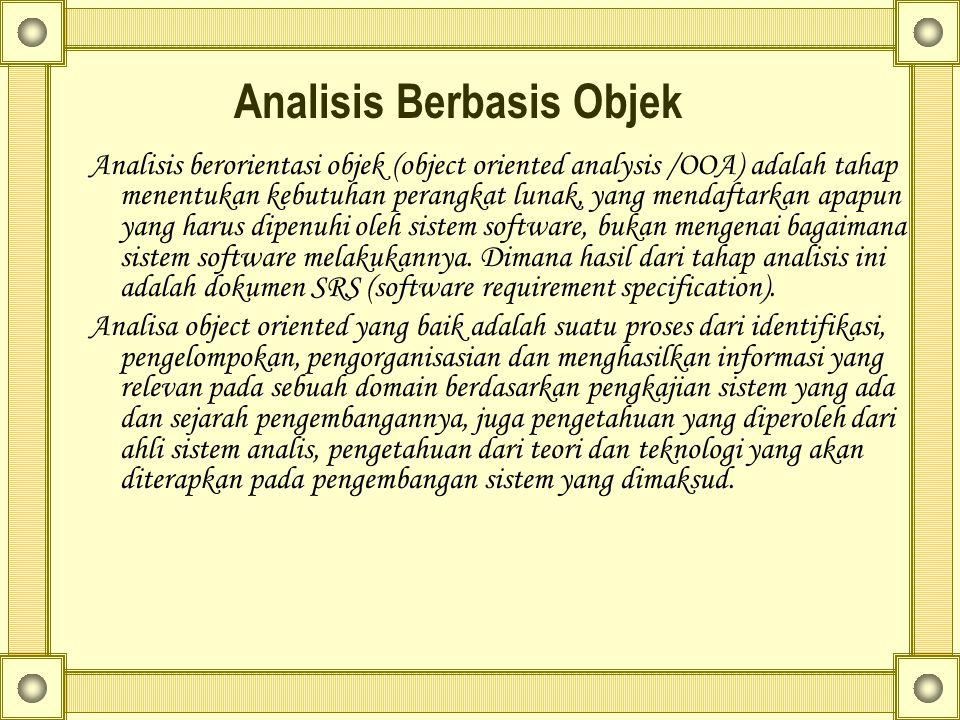 Analisis Berbasis Objek