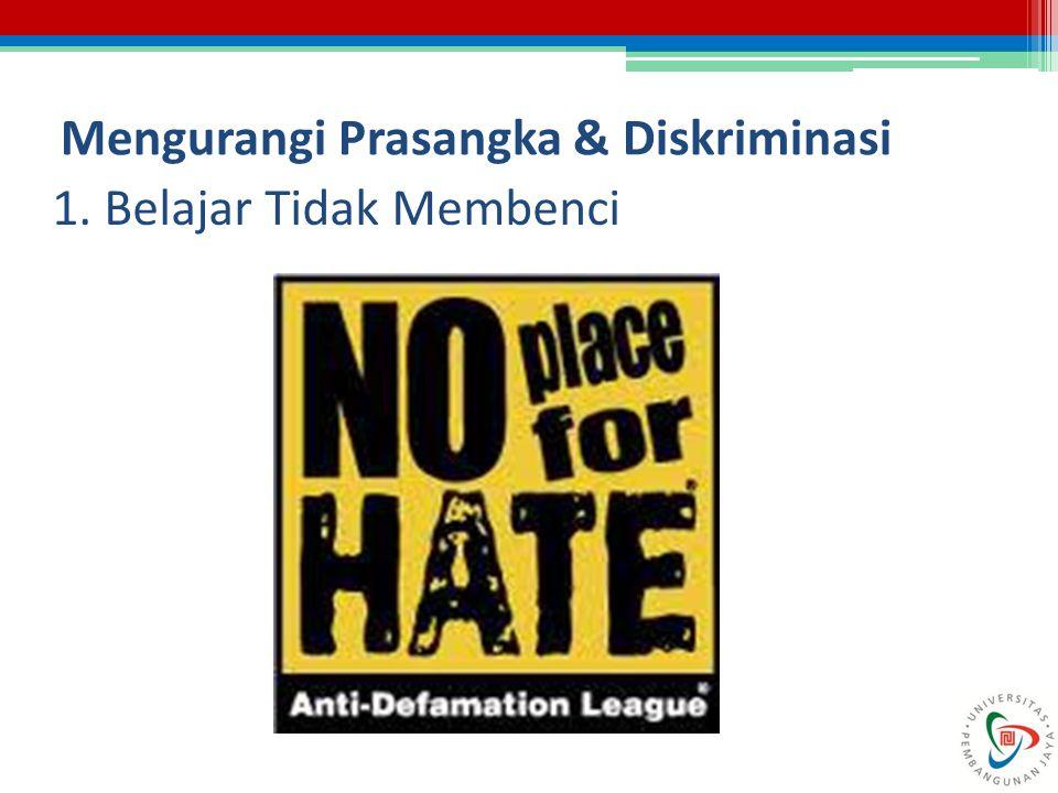 Mengurangi Prasangka & Diskriminasi