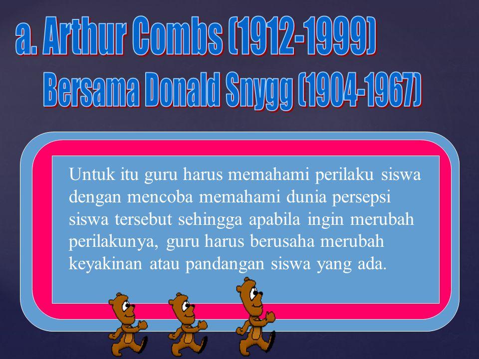 Bersama Donald Snygg (1904-1967)