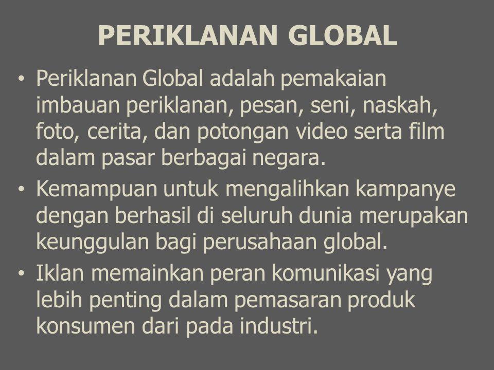 PERIKLANAN GLOBAL