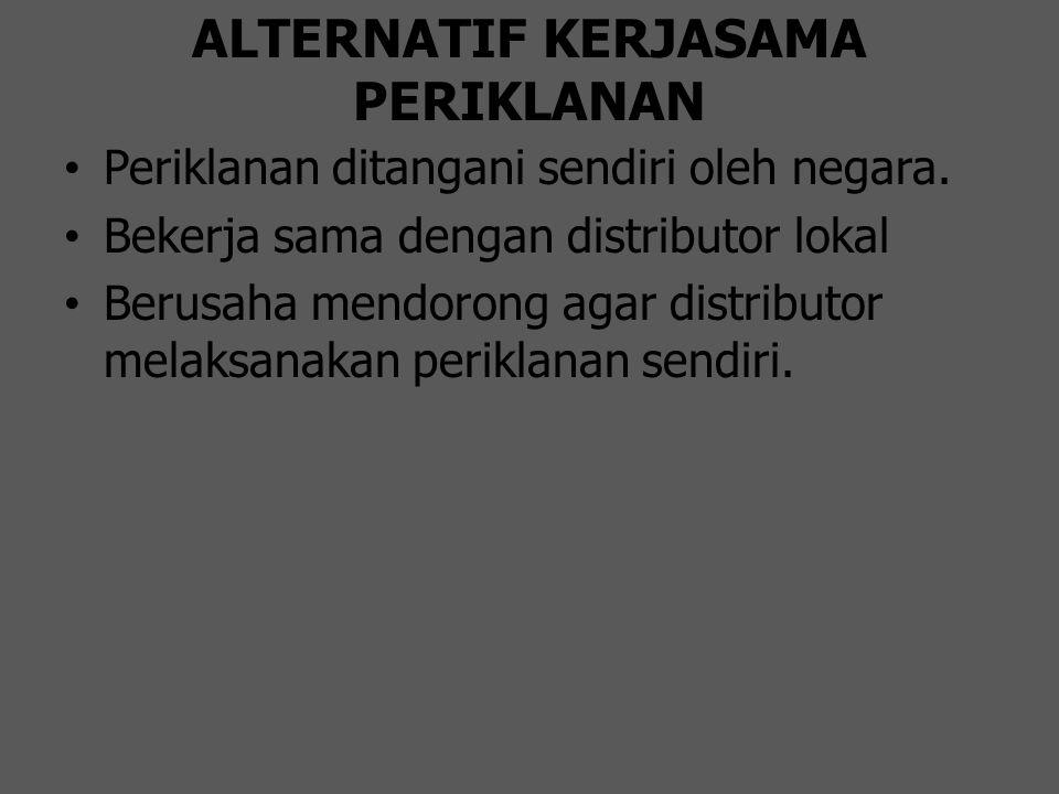 ALTERNATIF KERJASAMA PERIKLANAN