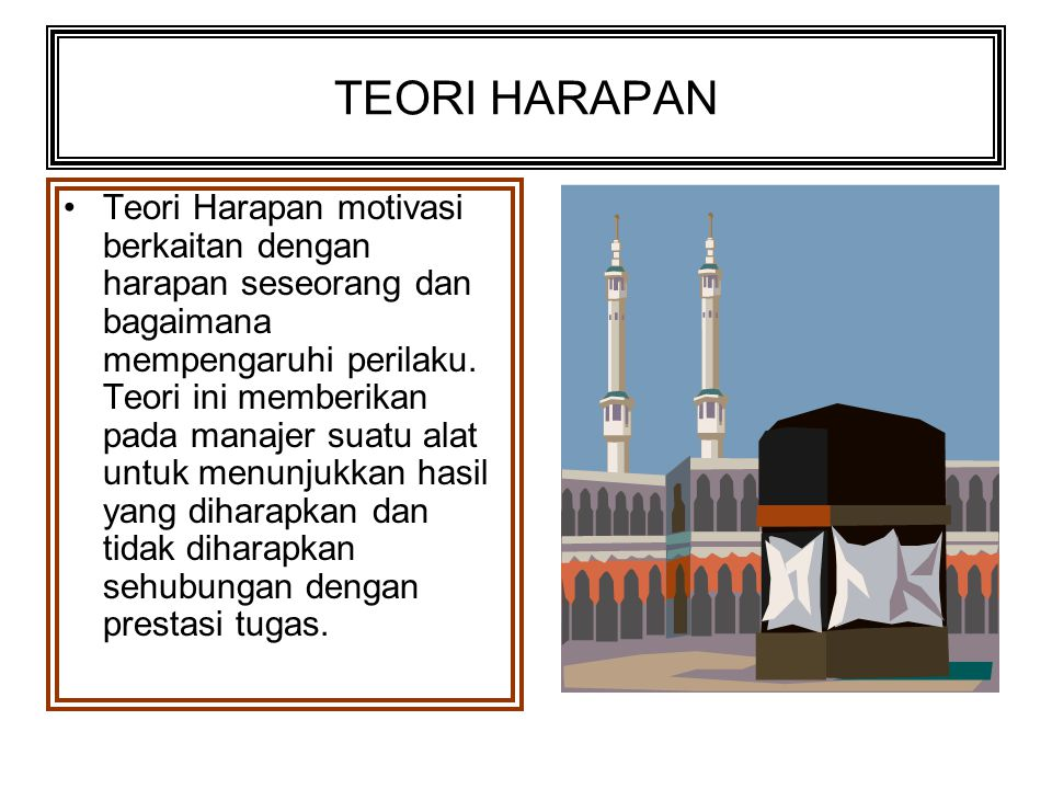 TEORI HARAPAN