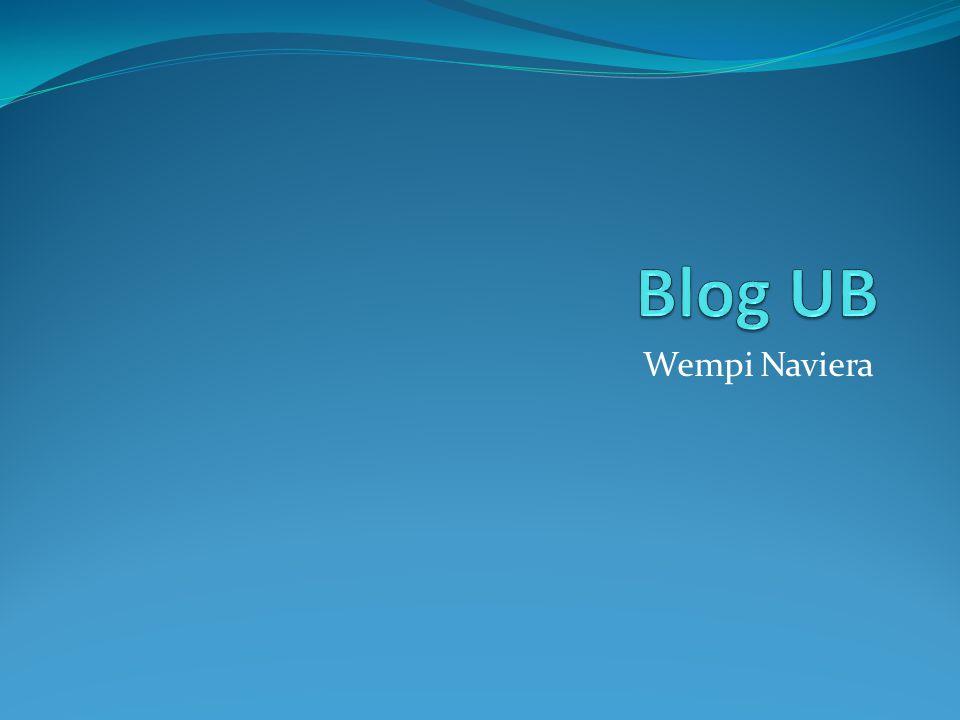 Blog UB Wempi Naviera