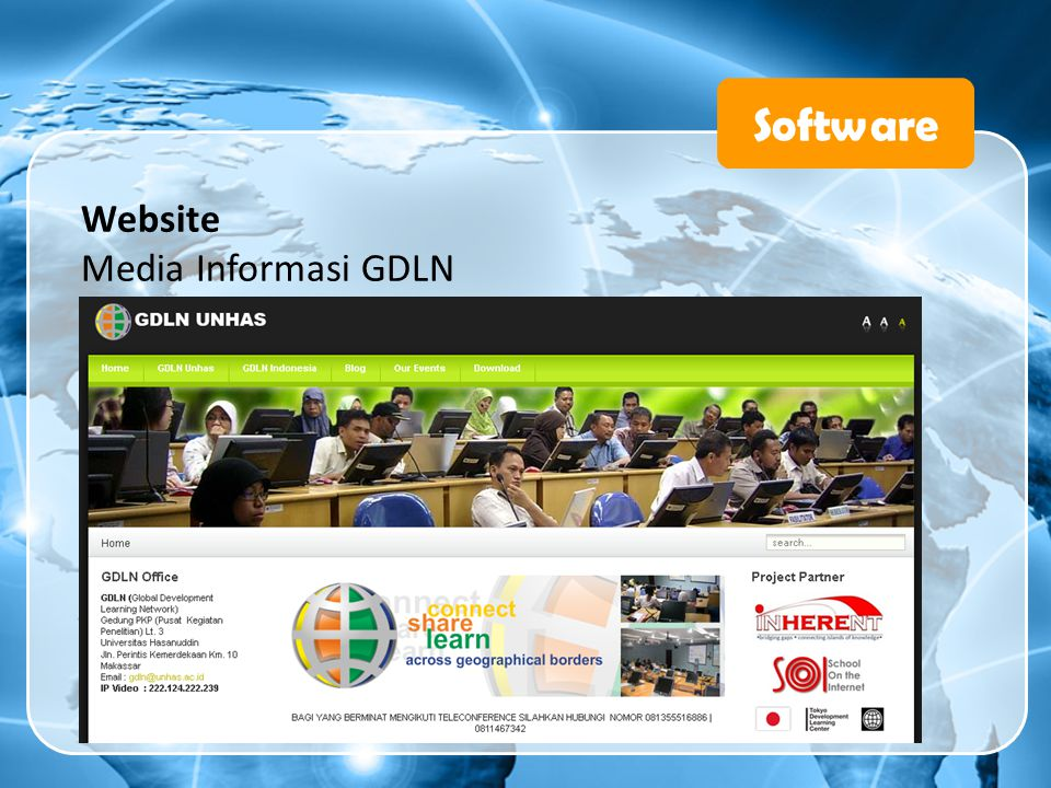 Software Website Media Informasi GDLN