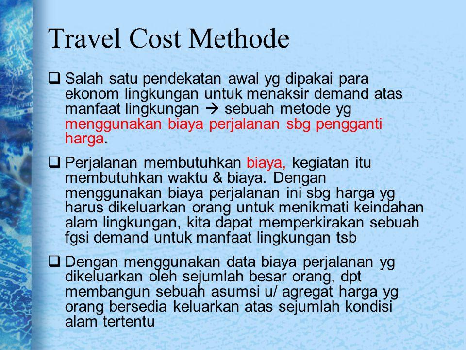 Travel Cost Methode