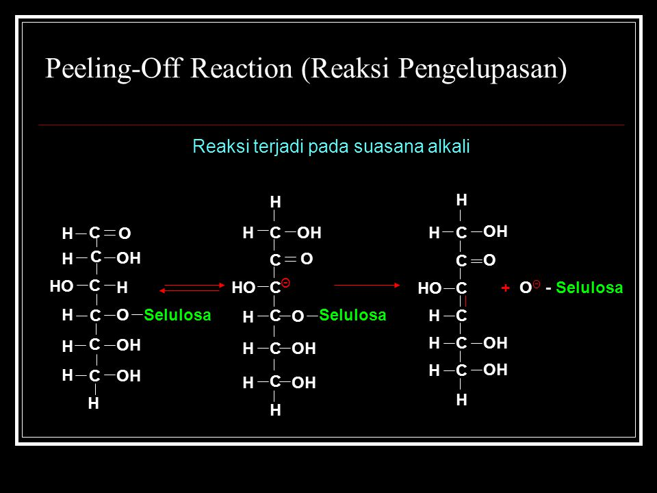 Peeling-Off Reaction (Reaksi Pengelupasan)