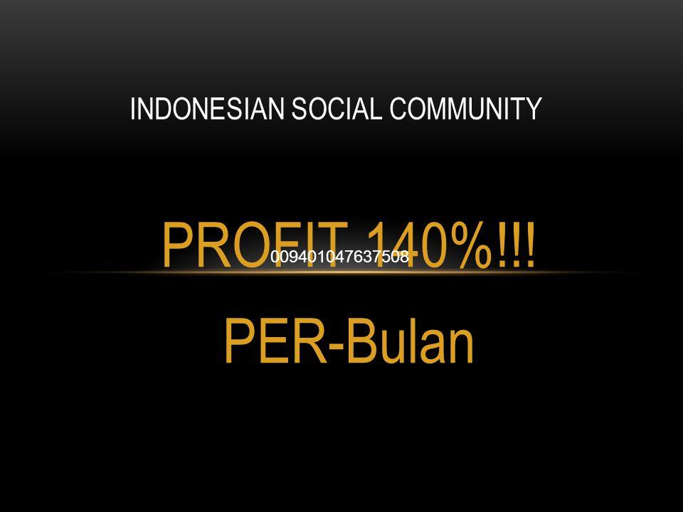 INDONESIAN SOCIAL COMMUNITY