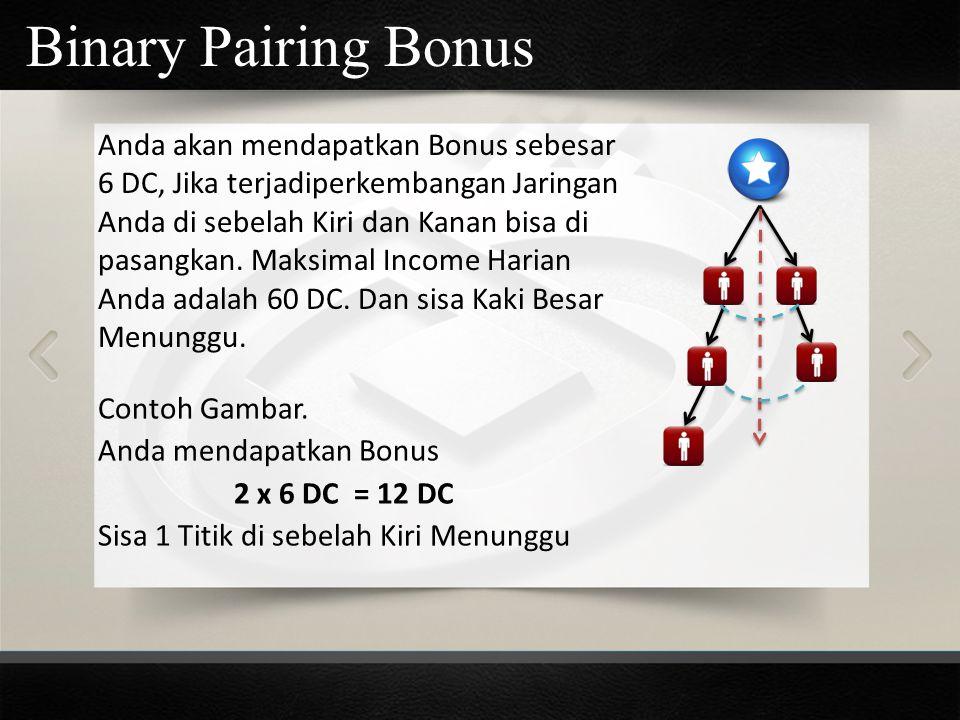 Binary Pairing Bonus
