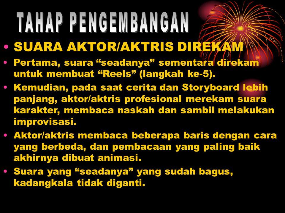 TAHAP PENGEMBANGAN SUARA AKTOR/AKTRIS DIREKAM