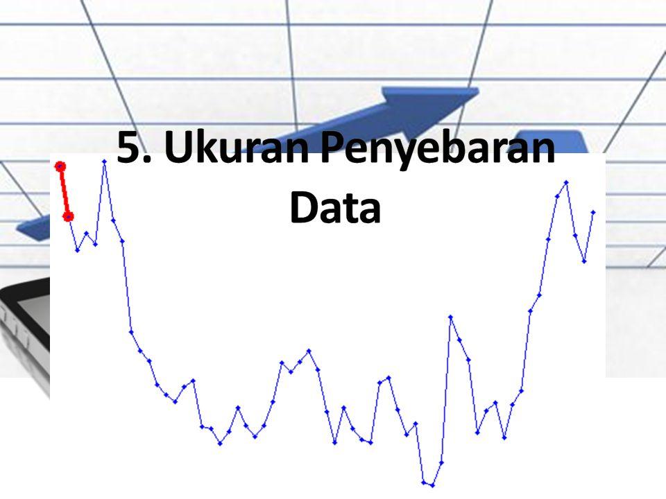 5. Ukuran Penyebaran Data