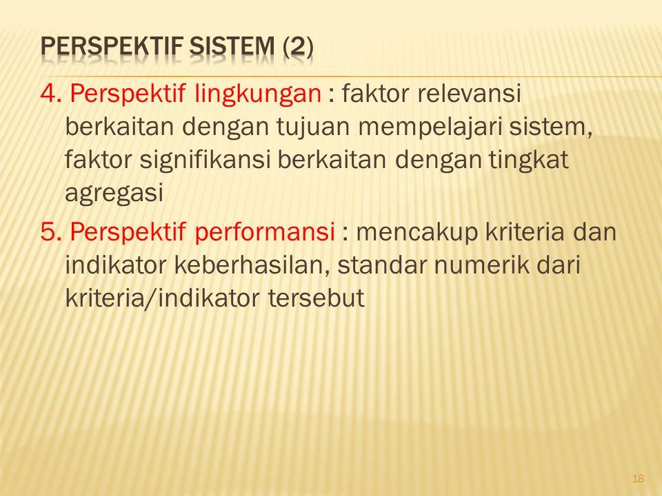 Perspektif Sistem (2)
