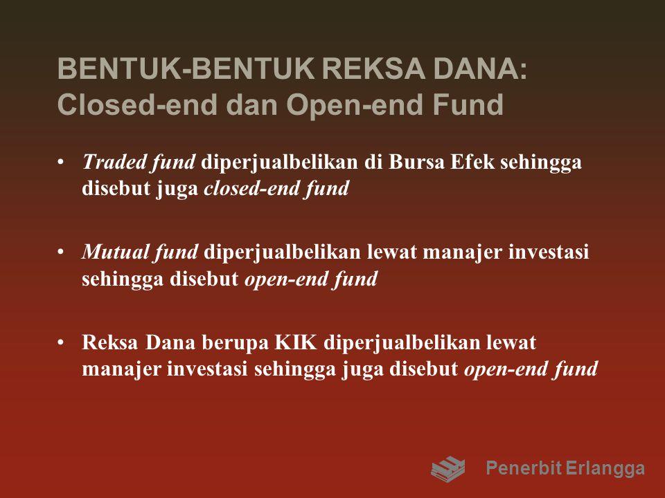 BENTUK-BENTUK REKSA DANA: Closed-end dan Open-end Fund