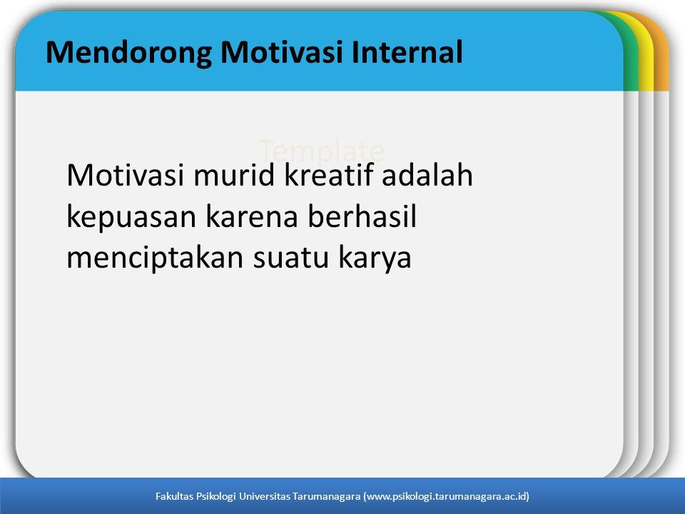 Mendorong Motivasi Internal